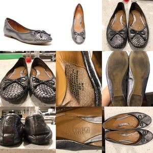 Shoes - Sperry maya flats pewter 9.5